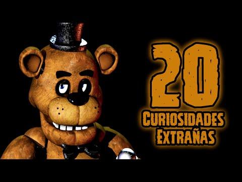 TOP 20: Las 20 Curiosidades Extrañas De Freddy De Five Nights At Freddy's | fnaf | fnaf 2