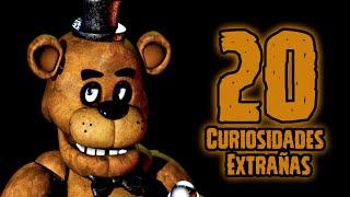 TOP 20: Las 20 Curiosidades Extrañas De Freddy De Five Nights At Freddy's   fnaf   fnaf 2