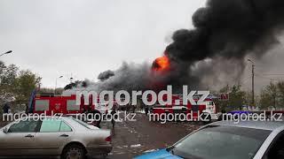 пожар в Шале