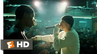 8 Mile (2002) - Rabbit Battles Lyckety-Splyt Scene (9/10) | Movieclips