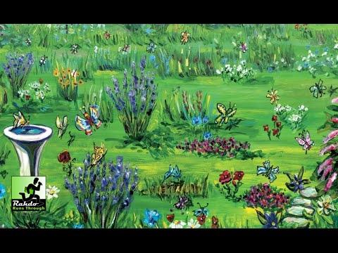 Rahdo Runs Through►►► The Butterfly Garden