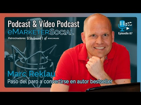 Charlando con Marc Reklau que paso del paro a ser Amazon Bestsseller | Vídeopodcast eMarketerSocial - YouTube