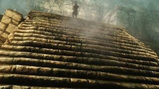 Skyrim Wyrmstooth (ENB; Legendary Difficulty) - Часть 6: Курган Змеиного Зуба - Трапезная