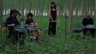 """Video thumbnail of """"Aikyo. Cajita de musica. Granada. Hang, Bells, Flauta & Chelo"""""""