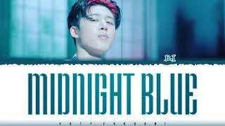 B.I (비아이) – 'MIDNIGHT BLUE' (깊은 밤의 위로) Lyrics [Color Coded_Han_Rom_Eng]