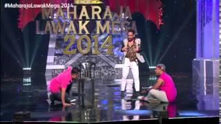 Maharaja Lawak Mega 2014   Minggu 1 (Virus)