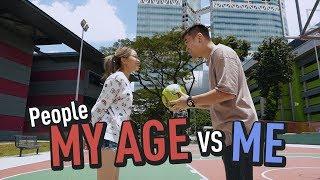 People My Age VS Me