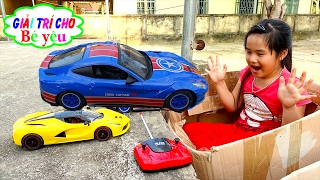 BABY PLAY TOYS HUYỀN Cars drive by entertainment for baby