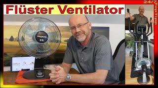 Rowenta Flüster Ventilator ❆ 2 Jahre Praxis [ luftige Kühlung ] Alternative Klimaanlage Klimagerät