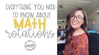 Math Rotations | Naturally Elementary