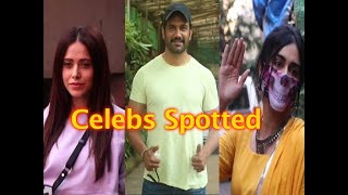 Adaa Khan, Nushrat Bharucha and Many Other's SPOTTED!