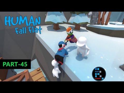 Human: Fall Flat | Amazing New Ice Map Fun Gameplay (PART-45)