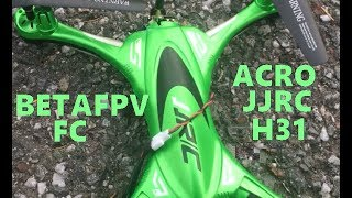 JJRC H31 ACRO BETAFPV 5.8 FPV OTG EACHINE ICE COLD WIND TEST