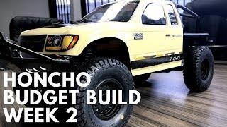 SCX10 2 Honcho $50 Budget Build Week 3 - Sliders, Stickers
