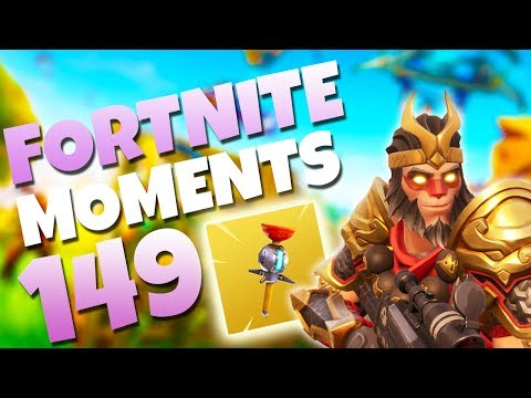 THE NEW CLINGER GRENADE IS AMAZING!! (INSANE STICKS)   Fortnite Daily and Funny Moments Ep. 149