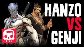 HANZO VS GENJI Rap Battle by JT Music (Overwatch Song)