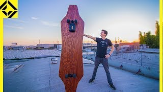 World's Largest ELECTRIC SKATEBOARD!