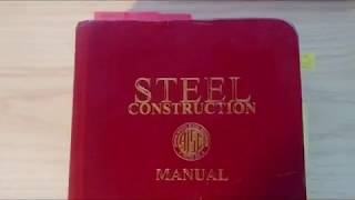 AISC Steel Manual Tricks and Tips #2