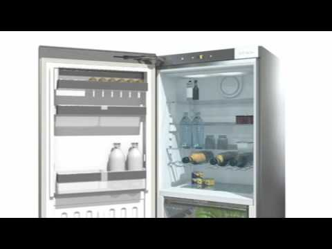 Miele Built In Fridge Freezer Frost Free KFN37432ID - Fully Integrated Video 2