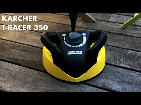 KÄRCHER T-RACER 350 TEST