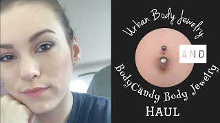HUGE ($100+) Body Jewerly Haul! (Urban Body Jewelry And BodyCandy) | LOJ&K