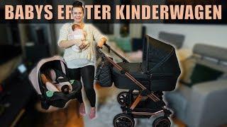 BABYS ERSTER KINDERWAGEN IST ENDLICH ANGEKOMMEN