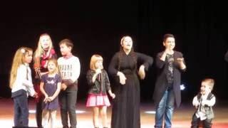 Конкурс Голос дети. Ярослава, Данил. Благотвор концерт в Белгороде