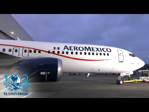 Aeroméxico suspende operación de sus aviones Boeing 737 MAX 8