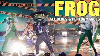 The Masked Singer Frog: All Clues, Performances & Reveal