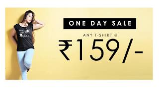 ONE DAY SALE 159 30TH NOV | ONLINE SHOPPING DEALS | BOOTEES.IN