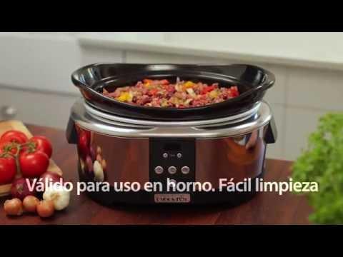 Crock Pot olla cocción lenta 5,7 L SCCPBPP605