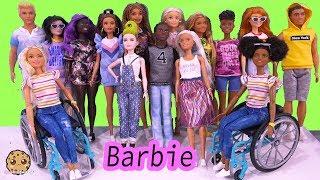 NEW 2020 Barbie + Ken Fashionistas Fashion Haul Video Review