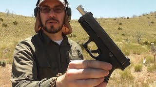 Glock 23 with Lone Wolf 40-9 Ported (Compensated) Barrel