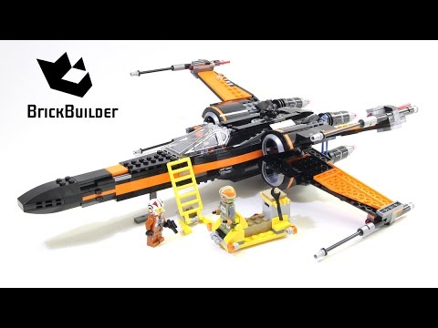Vidéo LEGO Star Wars 75102 : Le X-Wing Fighter de Poe