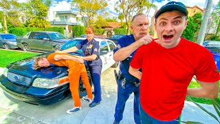 LAST TO GET ARRESTED WINS $10,000 (REAL COPS)