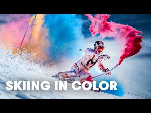 This Is The Most Beautiful Ski Run I've Ever Seen