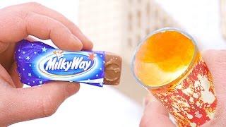 ЭКСПЕРИМЕНТ!  MilkyWay + ПОРОШОК