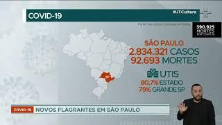 Covid-19: Brasil tem maior queda na média de vítimas no ano
