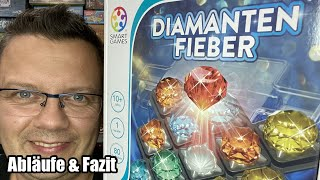 Diamantenfieber (Smart Games) - Logikspiel bzw. Denkspiel ab 10 Jahren - Herbstneuheit