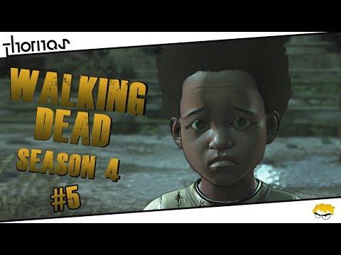 The Walking Dead 4 - |#05| - Jaký otec, takový syn.. | Český Let's Play | Částečný překlad