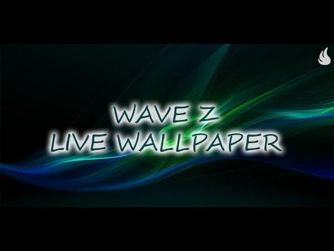 Video of Wave Z Live Wallpaper