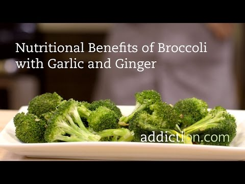 Benefits of Broccoli with Garlic and Ginger