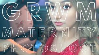 Getting Photo Shoot Ready | MATERNITY PICS