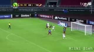 ملخص مباراة تونس 1-1 الكونغو رؤوف خليف