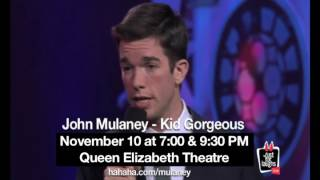John Mulaney Live in Vancouver! - Video Youtube