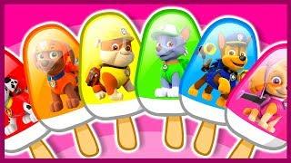Щенячий патруль. Мультик. Учим цвета. Мороженое. Learn Colors. PAW Patrol.