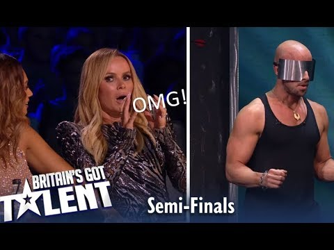 Jonathan Goodwin: Judges IN SHOOK As He Risks His Life LIVE TV!| Britain's Got Talent 2019 (видео)