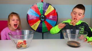 Mystery Wheel Ice Cream Challenge    Ultimate Ice Cream Sundae Challenge