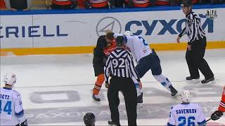 Бой КХЛ: Р.Савченко VS Вяч.Ушенин