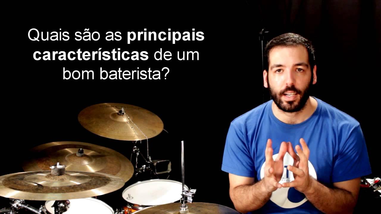 As principais qualidades de um baterista - 01